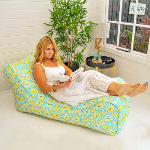 Beanbag Lounger in Summer House
