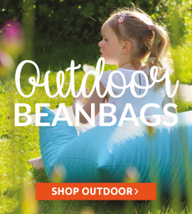 Outdoor Beanbags, cubes, floor cushions and scatter cushions