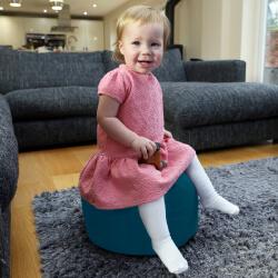 Trend footstool used as kids stool