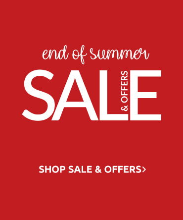 End of Summer Sale and Offers