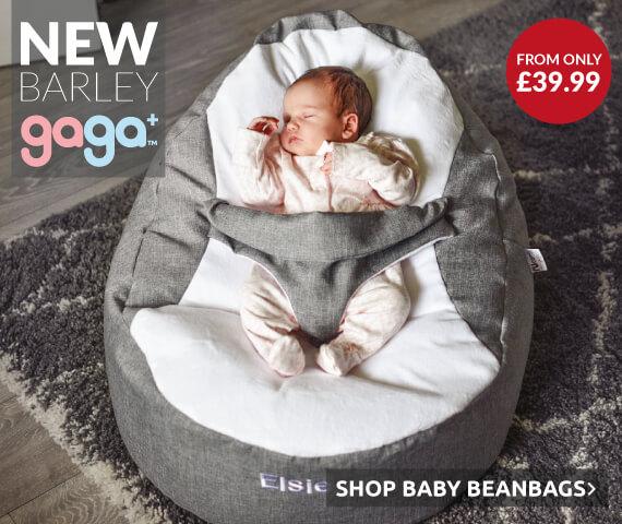 NEW Barley Gaga Baby Beanbag
