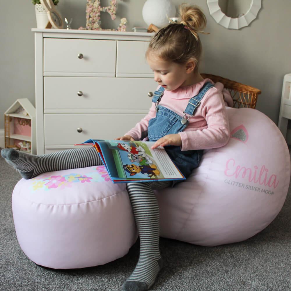Personalised 3D Unicorn Beanbag