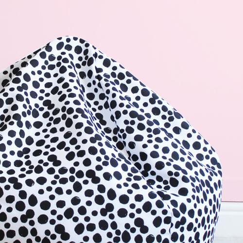 Dalmatian Beanbag Fabric