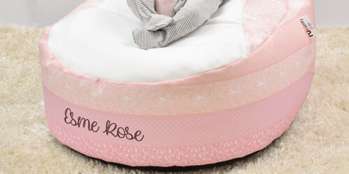 Personalised Baby Beanbag