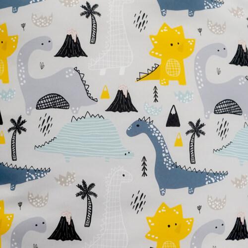 dinosaur kids stool fabric