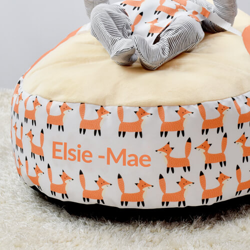 Personalised Baby Beanbag