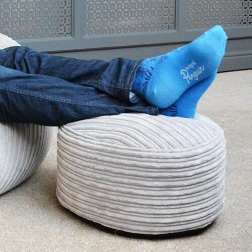 Jumbo Cord Footstool