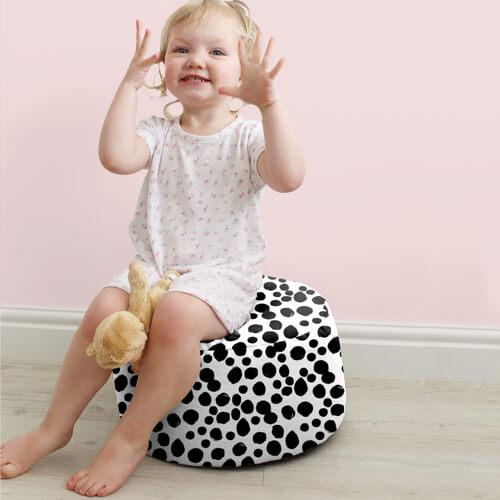Dalmatian Kids Stool