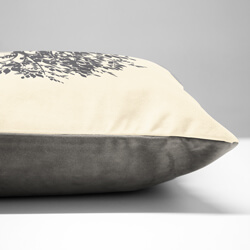 Family Tree Cushion Side View