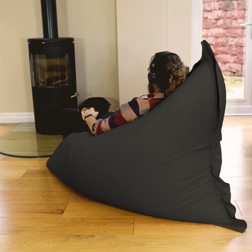 Giant Squarbie indoors for relaxing