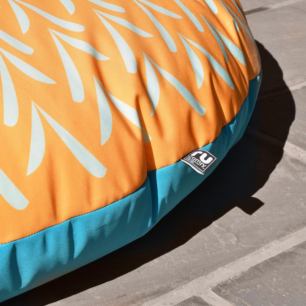 Sunburst Floor Cushion - Indoor/Outdoor rucomfy beanbags