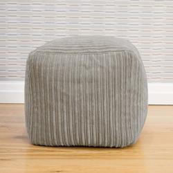 Jumbo Cord Cube Beanbag
