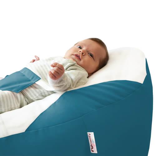 Dusk Blue Baby Beanbag