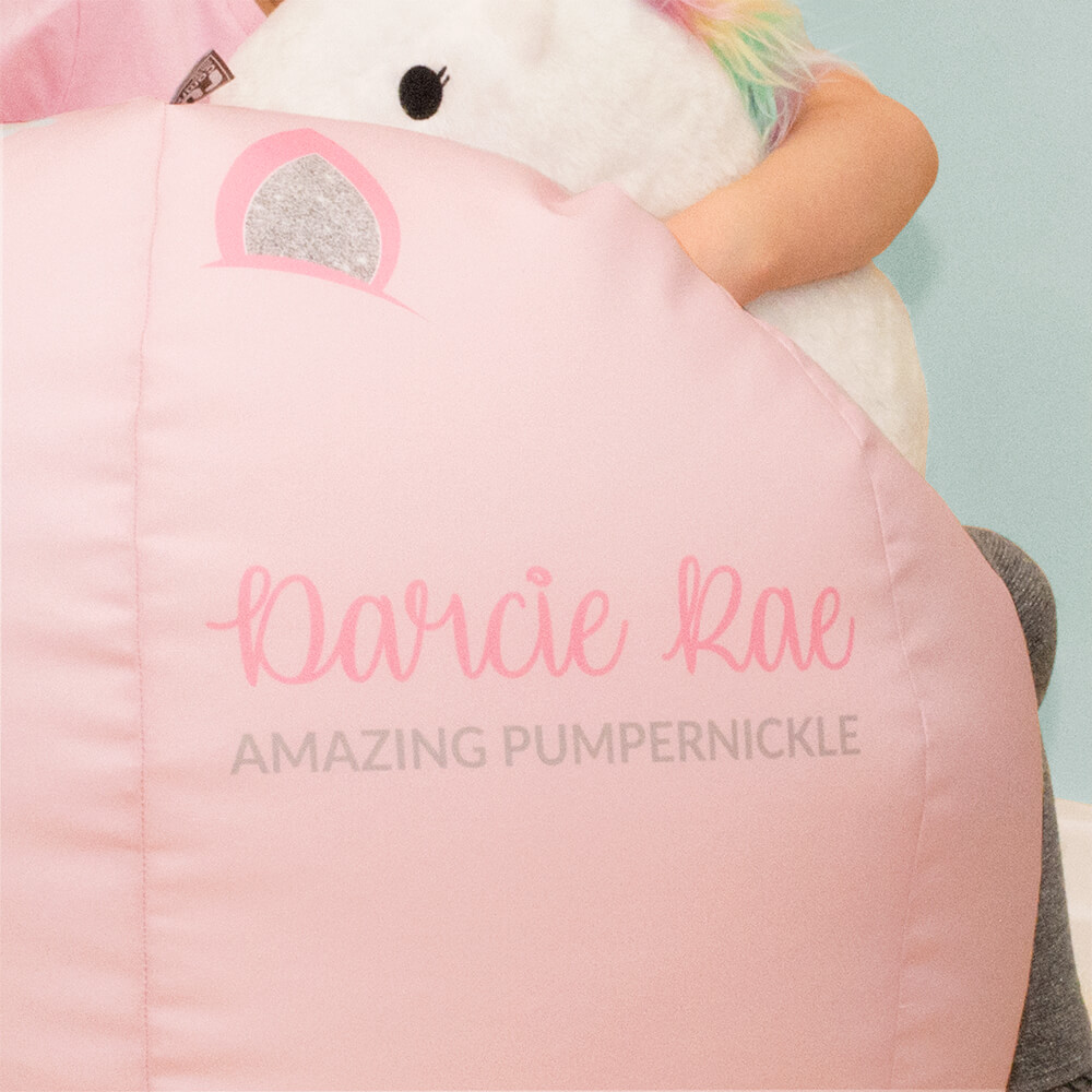 Personalised 3D Unicorn Bean Bag