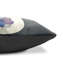 Personalised Pair of Love Cushions side view