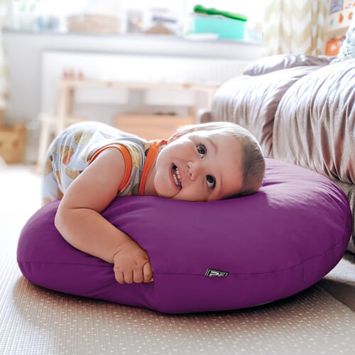 Colourful floor cushion fabric