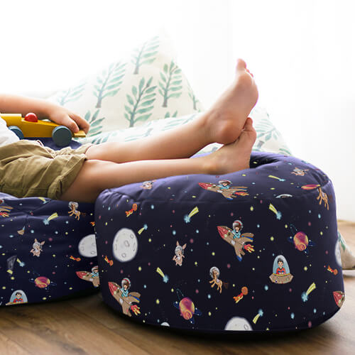 Belle and Boo Space Adventure Kids Stool