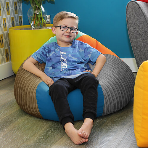 Touch-It Sensory Kids Beanbag