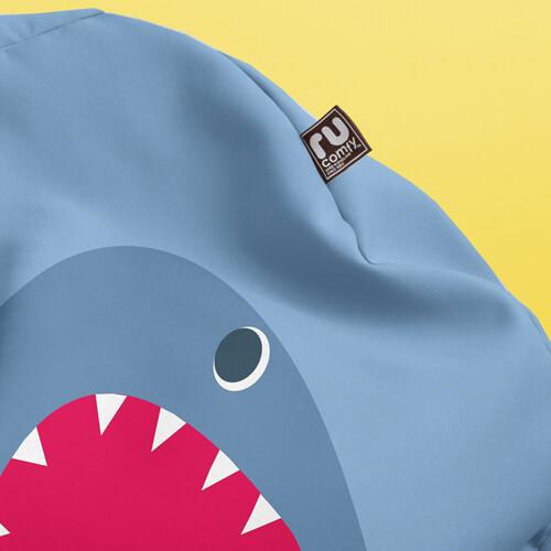 Shark Kids Stool rucomfy beanbags