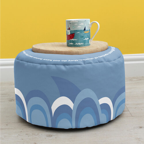 Shark Kids Stool Made in the UK