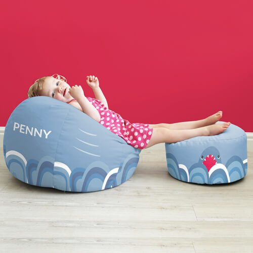 Shark Kids Stool rucomfy beanbags