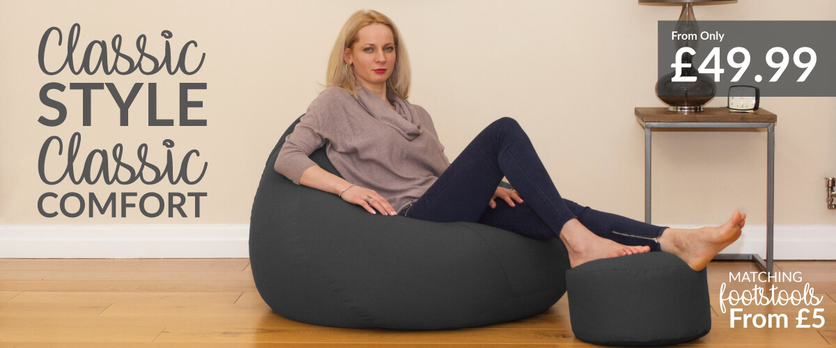 Adult Bean Bags Chairs Rucomfy Beanbags