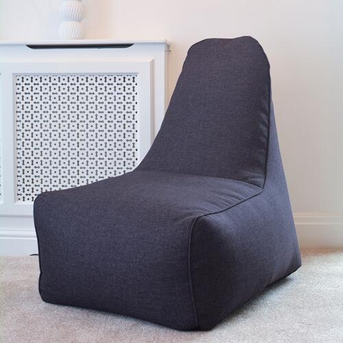 Denim Blue Raja Bean Bag Chair