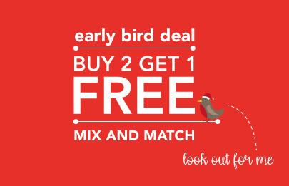 Early Bird Deals