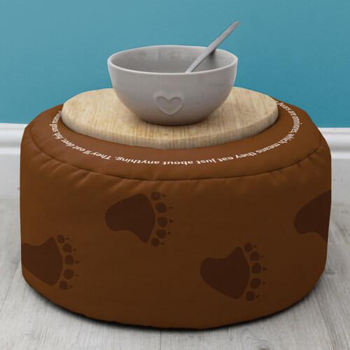 Beanbag Ottoman - Indoor/Outdoor rucomfy beanbags