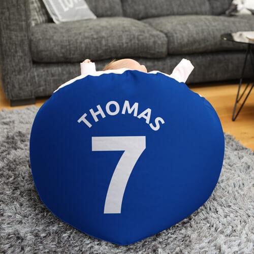 Personalised Blackburn Rovers Baby Beanbag