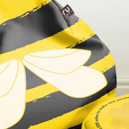 Bumblebee beanbag Fabric