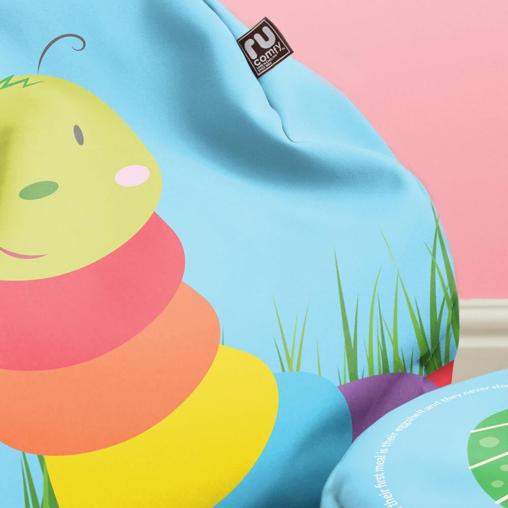 Caterpillar - Animal Bean Bag rucomfy beanbags