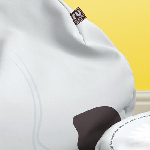 Cow beanbag Fabric