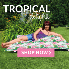 Tropical Beanbags, Cushions and Cubes