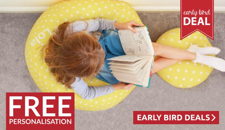 FREE Personalisation on Stars Kids Classic Beanbag
