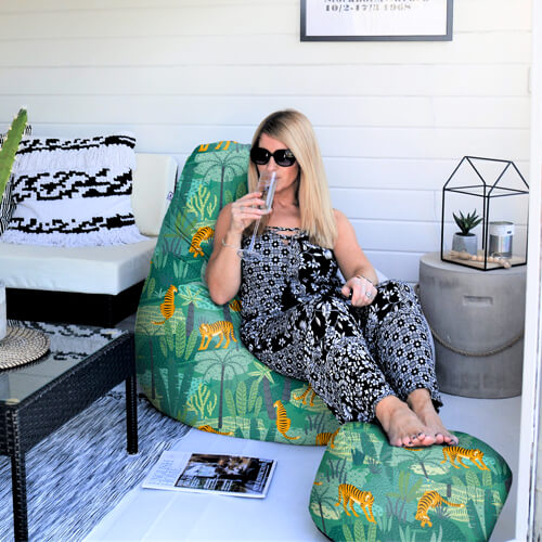 Jungle Tigler Beanbag in Summer House
