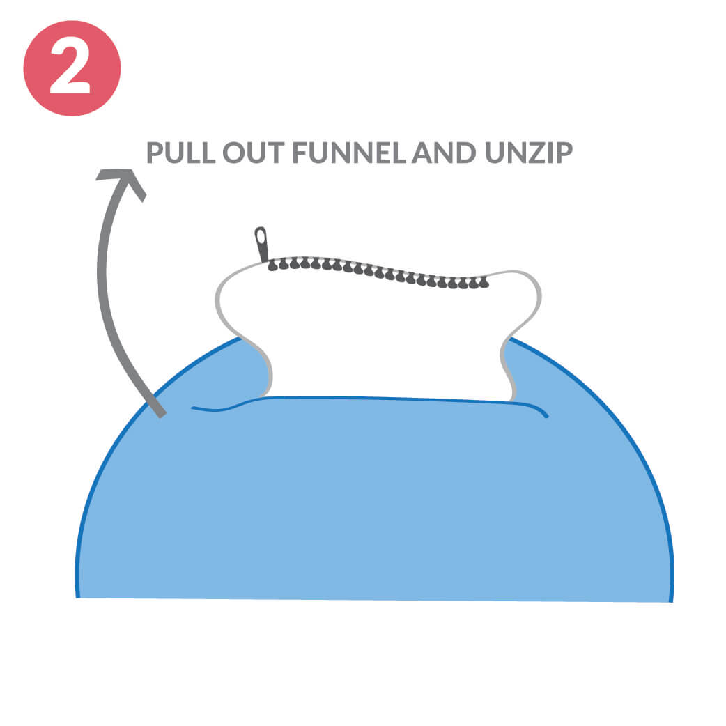 Jumbo Cord Slouchbag Close Up