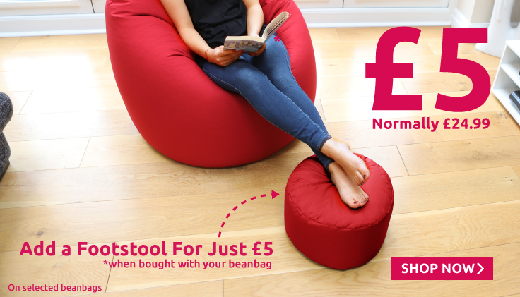Add a footstool for a fiver