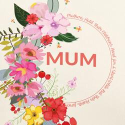 Floral Mum close up