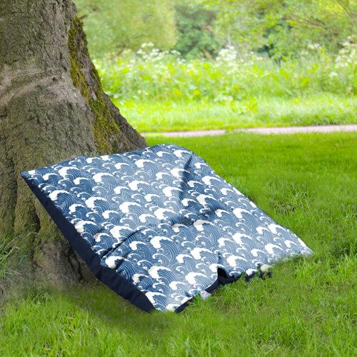 Outdoor Floor Cushion under tree