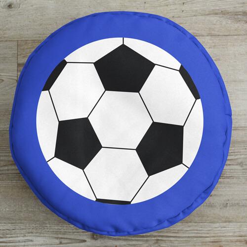 Football Kids Beanbag Stool