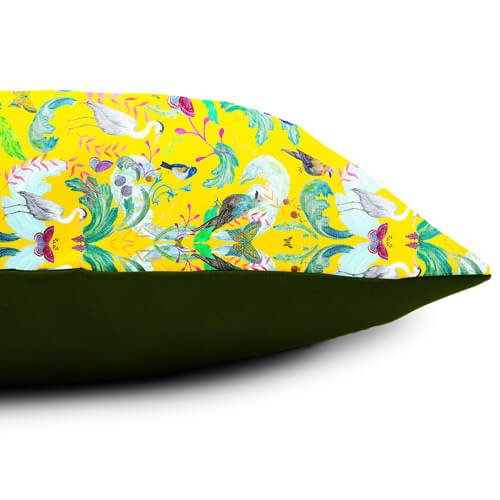 Heron Garden Cushion