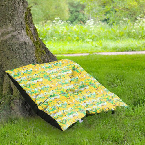 Floor Cushion Under Tree