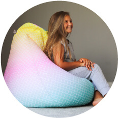Mermaid Beanbags