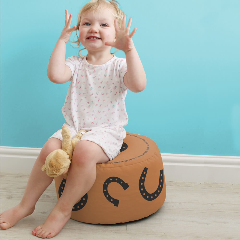 Horse Kids Stool rucomfy beanbags