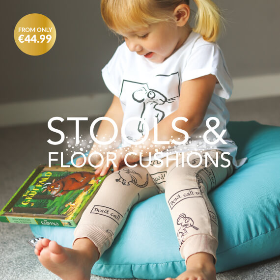 Kids Beanbag Stools and Floor Cushions