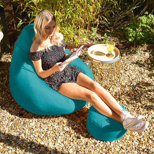 Extra Large Classic outdoor bean bag outdoor in the garden