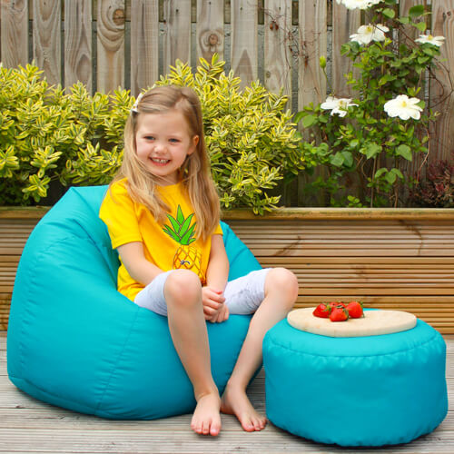 Kids Beanbag Outdoors