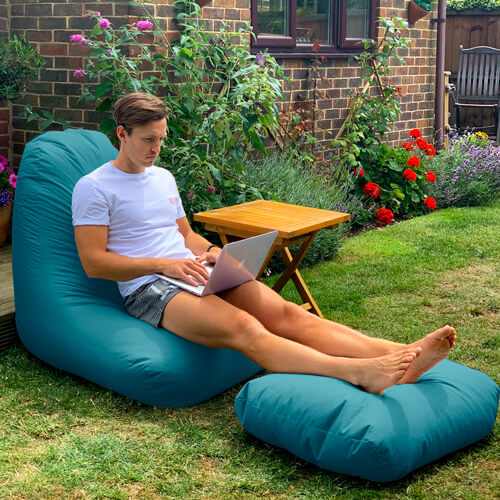 Beanbag Chair - Indoor/Outdoor - Large Made in the UK
