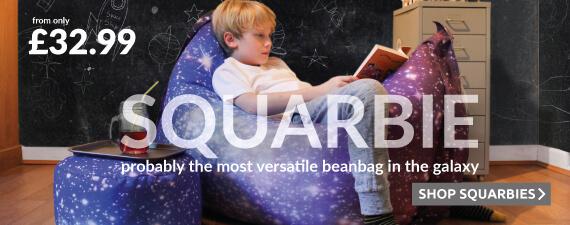 Versatile Squarbie Bean Bags
